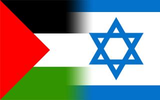 Israel & Palestine flags
